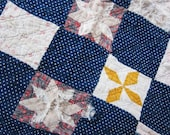 Antique cutter quilt Civil war perhaps....c.1870