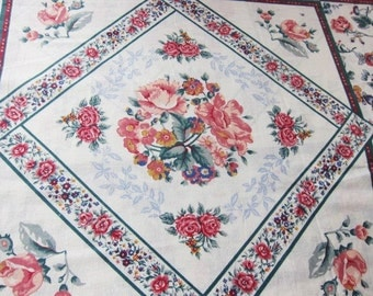 CHEATER cloth, OZARK  Calico,  quilting cotton, craft fabric, patchwork fabric, vintage quilt fabric