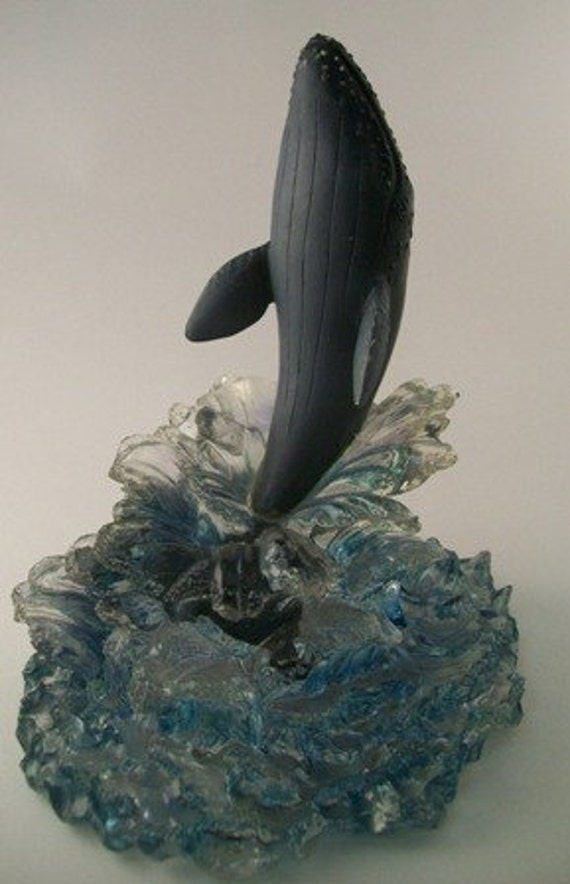 Vintage Wyland Sculpture Limited Edition 134 California Grey Whale