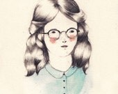 LAST ONE Girls Who Wear Glasses Print