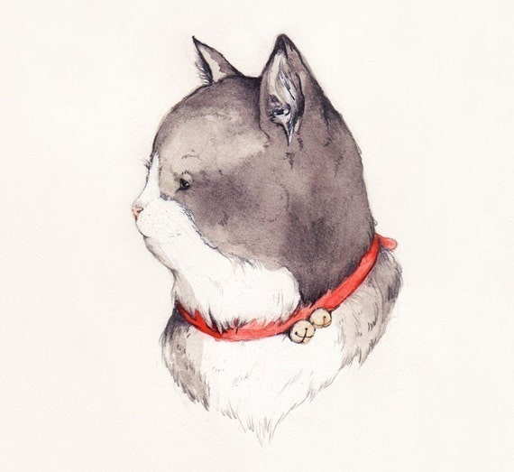 I will draw/paint a portrait of your pet for you.
