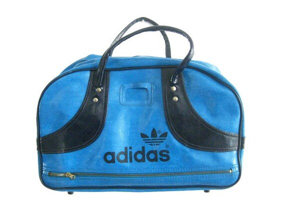 vintage turquoise adidas gym bag. Black Bedroom Furniture Sets. Home Design Ideas