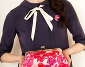 Happy Bloom Medium Lili Clutch---LAST ONE