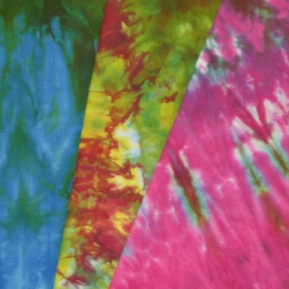 Hand Dyed Fabric - Saint Croix - 3 Fat Quarters