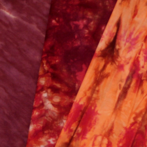 Hand Dyed Fabric - Terrassa - 3 Fat Quarters