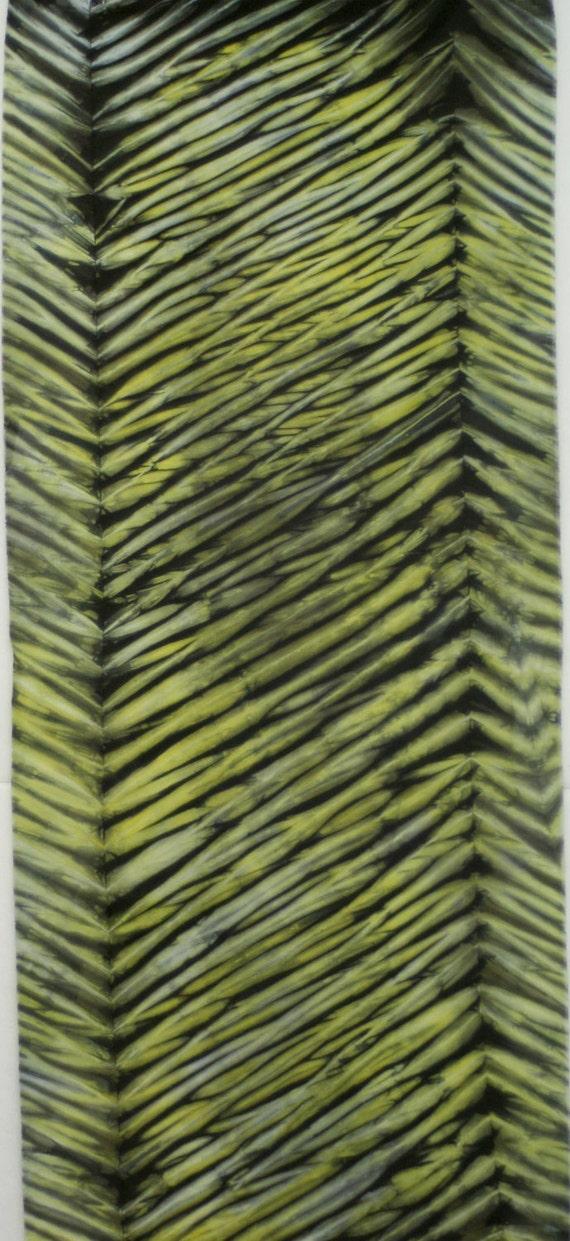 Hand Dyed Shibori Fabric - Hirosaki - One Half Yard