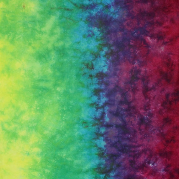 Hand Dyed Fabric Gradient  - Festival