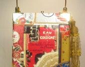Eau De chic perfume cigar box purse