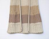SALE - Elliot (Striped Tan Sweater Vest)