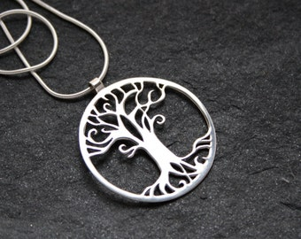 Tree of Life Handmade Silver Pendant