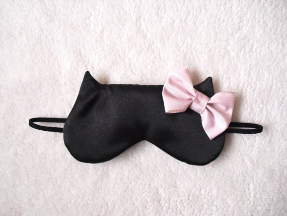 Big Bow Cat Sleep Eye Mask