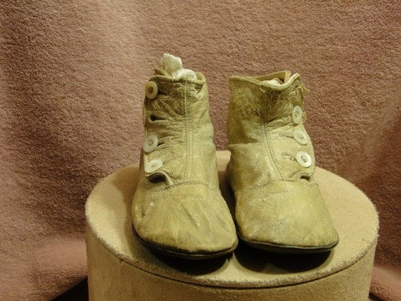 SALE -High Top Baby Shoes