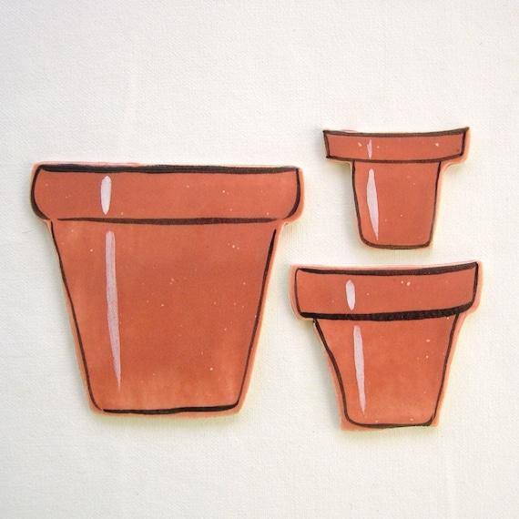 Ceramic mosaic tiles Flower pots handmade mosaic supplies by ArtTileMosaics