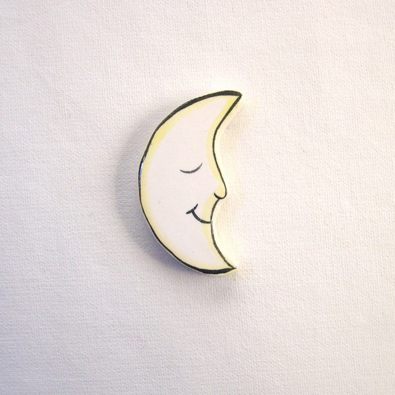 Mosaic tiles ceramic supplies moon art tiles for mosaics, magnets, jewelry