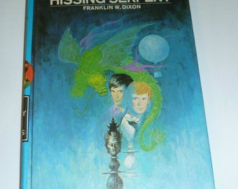 Hardy Boys The Clue of the Hissing Serpent Book