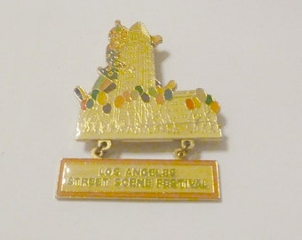 1984 Los Angeles Street Scene Festival Pin