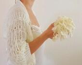 Special Order for Fanny Ivory Shrug Bolero Bridal Shrug Wedding Bolero Bridal Jacket Bridal Accessories Shrugs Boleros Romantic Soft Elegant