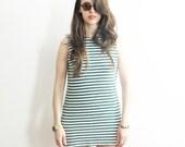 Striped Sailor Tank or Mini Dress. S/M