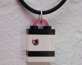 Mini Snow Pink LEGO Pendant
