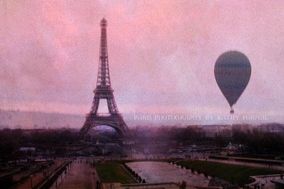 Paris Eiffel Tower Photography Pink Paris Photography Pink Eiffel