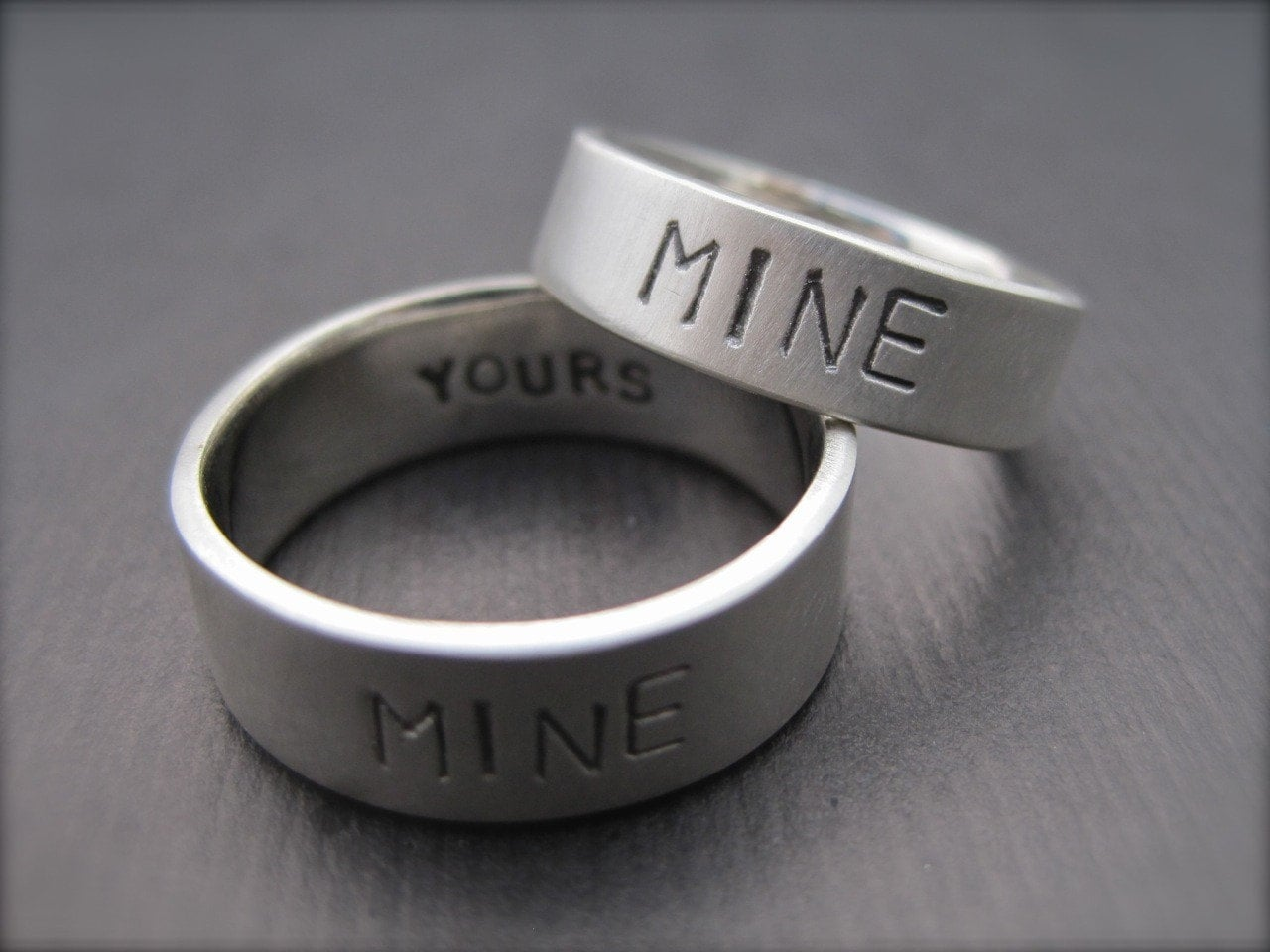 you re mine i m yours rings sterling silver promise