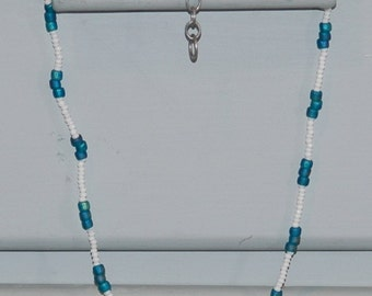 Coastal necklace, simple breezy summer jewelry