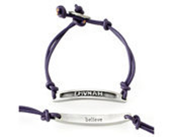 Emunah/Believe Hebrew Word Bracelet - Emily Rosenfeld