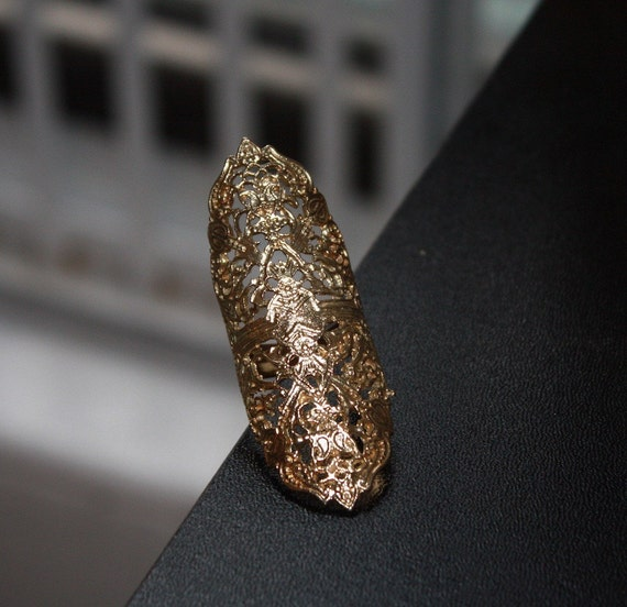 Lace Armor Ring