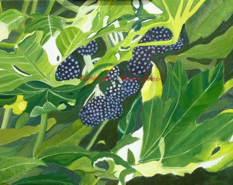 Hidden Treasure - Original Oil Painting by Sharon James, 24 inches x 18 inches