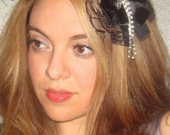 Headband- Starry Night, Rhinestone Headband,  Hair Accessories, Accessories, Weddings, Rhinestone Accessories