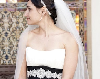 Bridal Headband, Wedding Accessories, weddings, Headband, hair accessories, rhinestone headband, wedding, bridal, headpiece, bridal