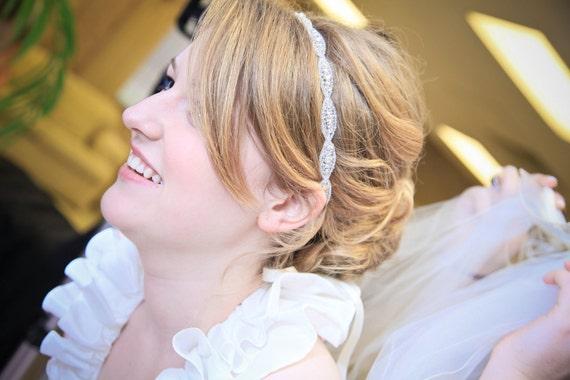 Weddings, Bridal Accessories, rhinestone headband, bridal headband, crystal headband, accessories, bridal headpiece, bridal accessories