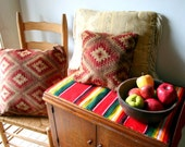 Instant Collection 3 Vintage Navajo Pattern Throw Pillows