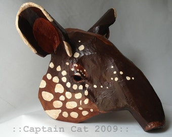 Original Captain Cat Tapir Mask