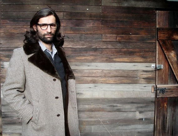 Vintage Professor Back To School Coat
