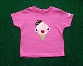 Yummy Naughty Ice-cream Toddler T-Shirt