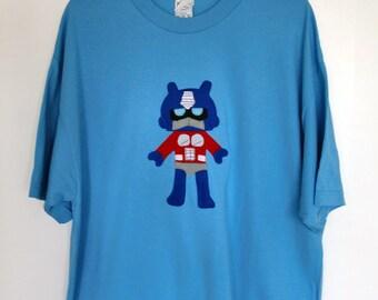 Giant Mega Robot Adult T-Shirt