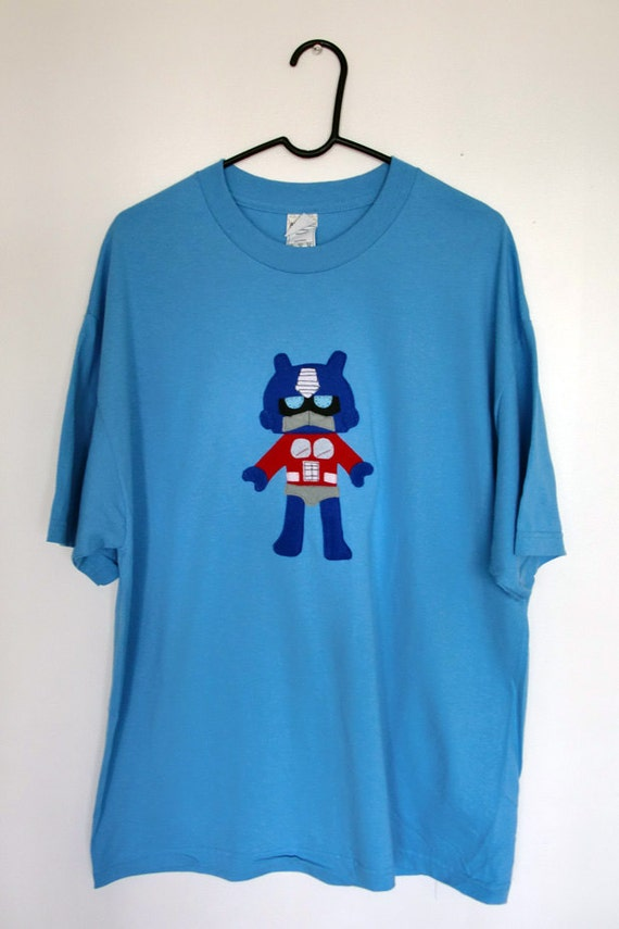 Giant Mega Robot Adult T-Shirt