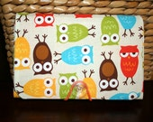 Coupon Holder - Organizer - Keeper  -  Urban Zoologie Owls