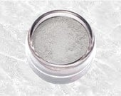 Gray Mineral Eyeshadow SILVER GRAY LIGHT eye shadow liner bare soft grey Eyeliner smoky shade Pastel Makeup Cosmetics TiaraLx Minerals