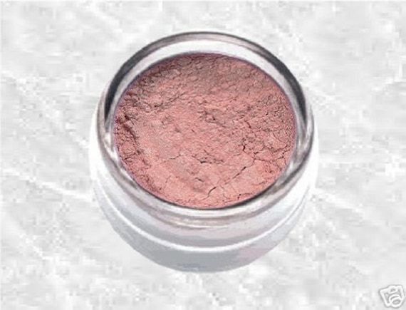 neutral pink eyeshadow LOVING HEART Natural Mineral Eye shadow eyeliner Makeup Cosmetics Sifter TiaraLx Minerals