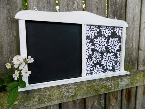 Shabby Chic Vintage  Chalkboard Paris Apartment Home Decor Wall hanging