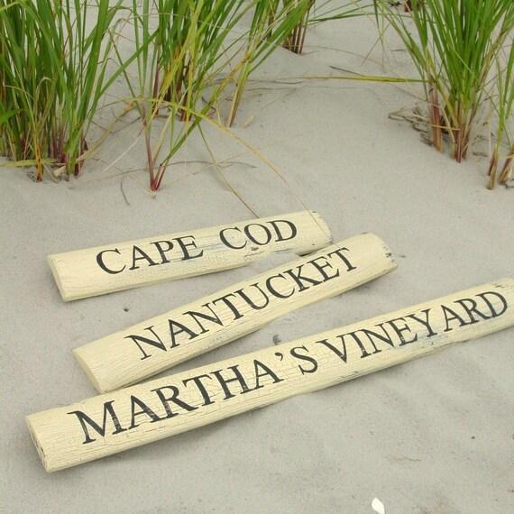 Martha's Vineyard Picket Sign