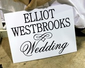 ADD-ON:  custom wedding signage - add a wire stand (W-020)