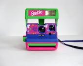 Vintage Polaroid Barbie Camera Novelty