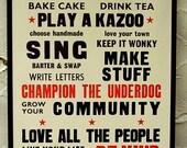 2010 Aardvark Letterpress Manifesto
