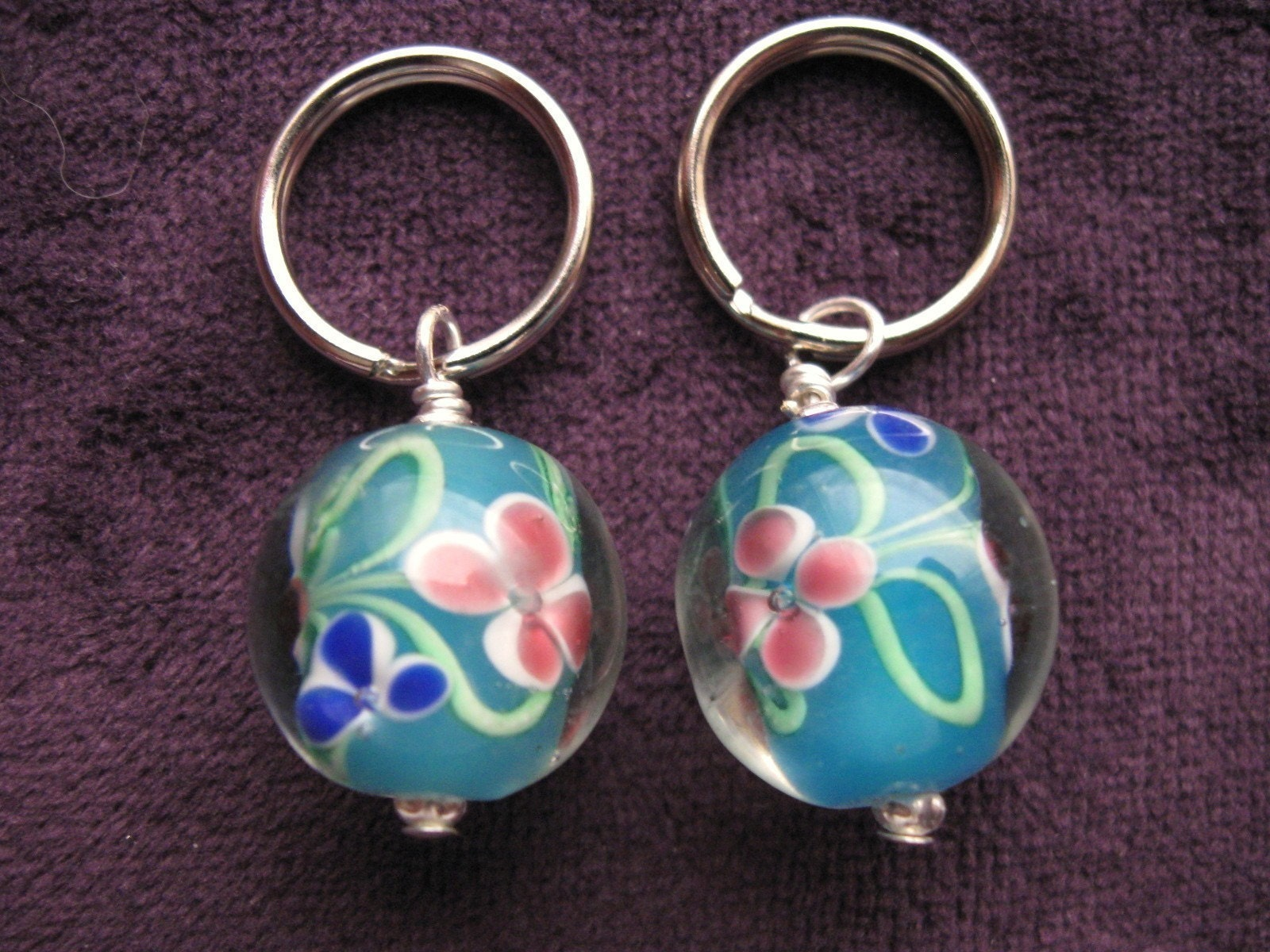 Stitch Markers Knitting Crochet Beautiful by ChickenStitches