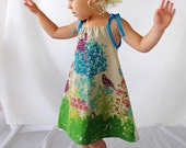 Blissful Day - Made with Imported Japanese Linen Fabric - From Dress to Tunic  - Girl's Dress - Handmade Clothing by bitty bambu
