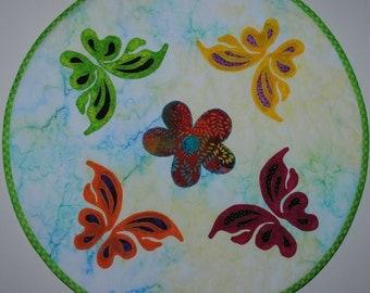 Butterflies Table Topper Pattern Download