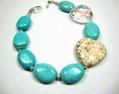 Turquoise Heart Bracelet